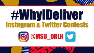 Morgan State University #WhyIDeliver Promo Vid