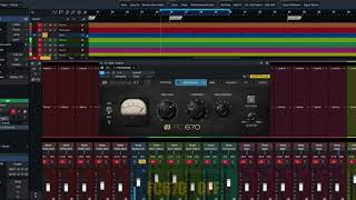 PreSonus Fat Channel Plug-in Demo: FC670