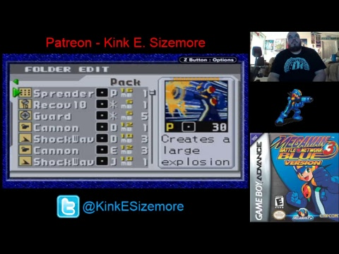 Mega Man Battle Network 3 (Blue) Pt. 2 (TMF Stream #35)