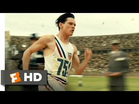 Unbroken (1/10) Movie CLIP An Olympic Record (2014) HD