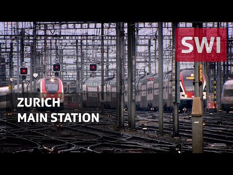 The heart of the Swiss railways