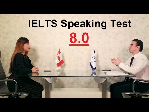 IELTS Speaking Test Band Score Of 8 With Feedback