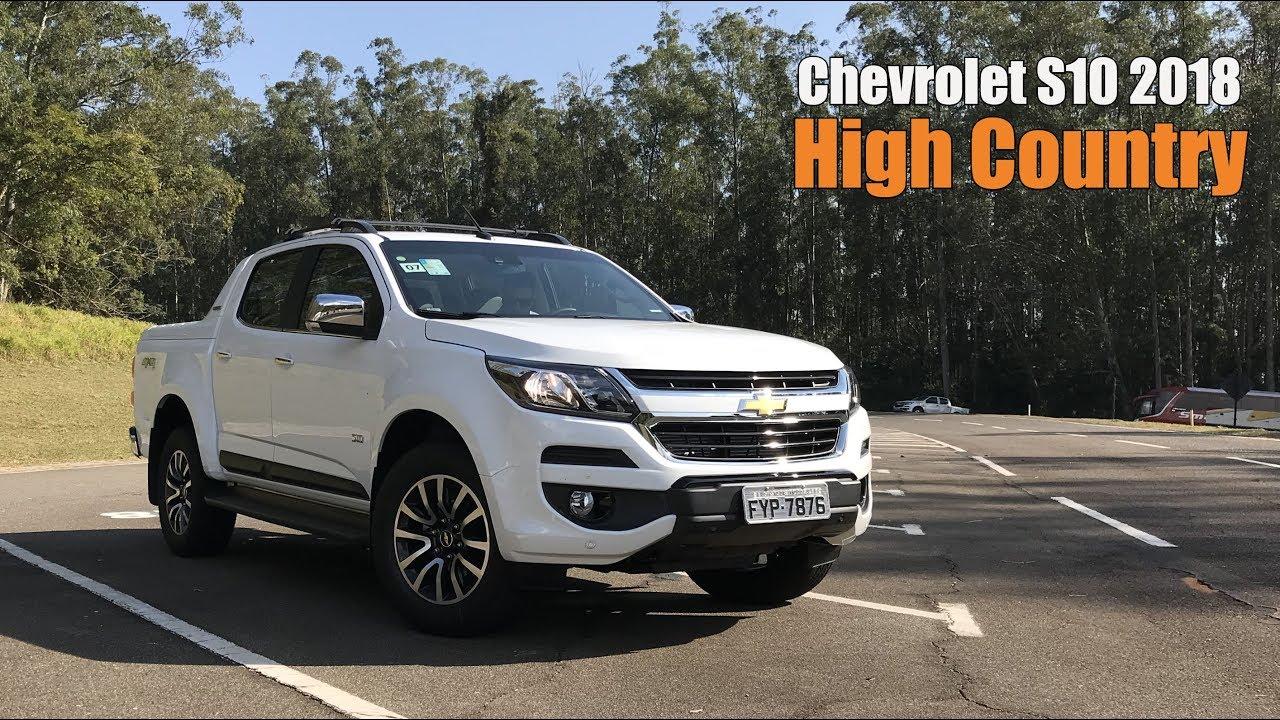 Nova Chevrolet S10 Diesel 2018 High Country - Falando de Carro