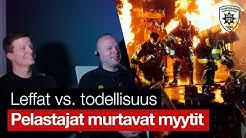 Leffat vs. todellisuus – Kuinka realistisia elokuvien tulipalokohtaukset ovat?