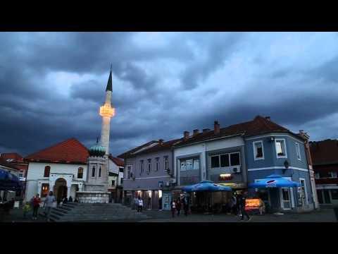 Tuzla (Bosnia)liberty square – Ezan/Azan/Athan/ during the Ramadan 2015.