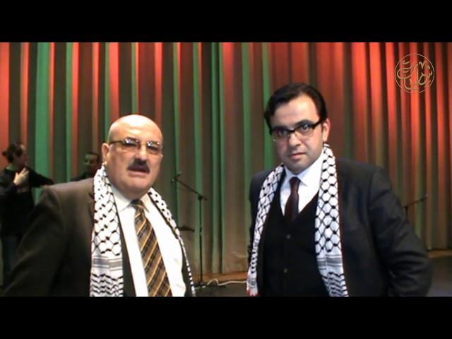 في حضرة الثقافة الفلسطينية مع معالي الوزير إيهاب بسيسو