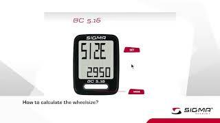 Велокомп'ютер Sigma BC 5.16: огляд та налаштування