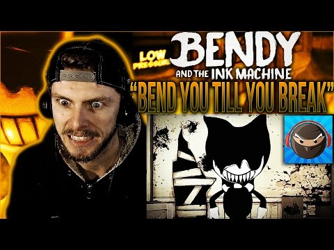 "Vapor Reacts #314| BENDY AND THE INK MACHINE SONG ""Bend You Till You Break"" by TryHardNinja REACTION"
