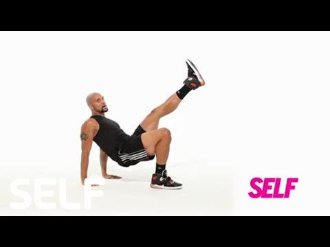 INSANITY WORKOUT: Switch Kick Move All-Over Toner SELF's Trainer to Go