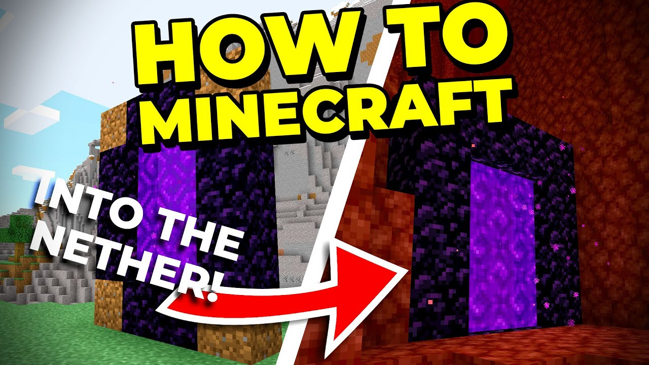 How To Minecraft: Into the NETHER for the First Time! (Survival  1.16 Let's Play) [#3]