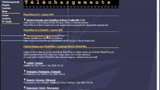 Astuces et techniques Photofiltre - 00. Utiliser Photofiltre GRATUITEMENT et sans installation