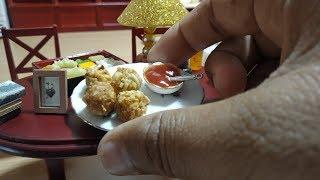 Miniature Maggi Pakoda | Miniature Cooking | Tiny Kitchen