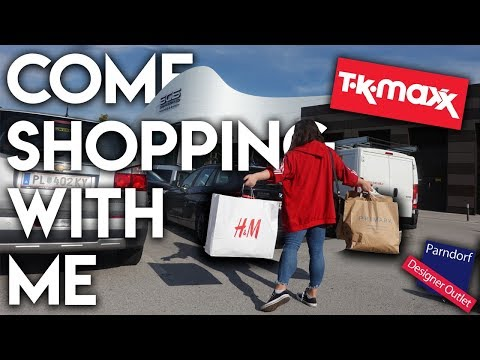 COME SHOPPING WITH ME (Primark, Tk Maxx, Pandorf, H&M)