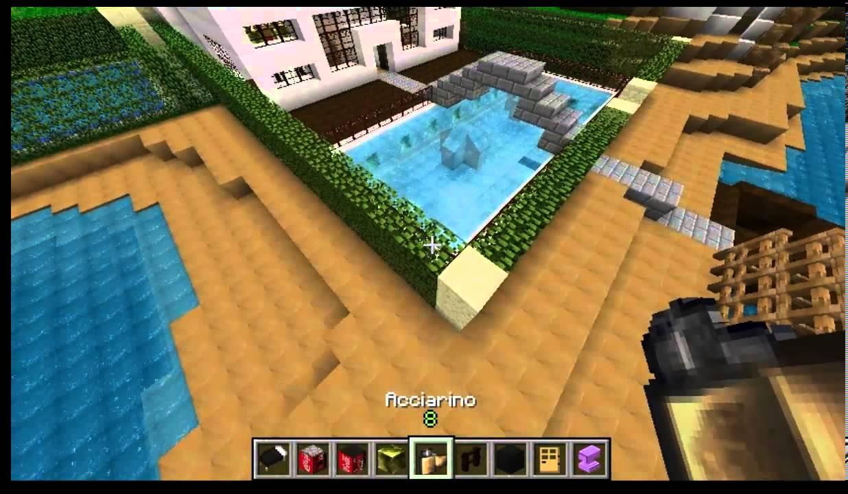 Minecraft mega costruzioni casa moderna youtube for Casa moderna minecraft 0 11 1