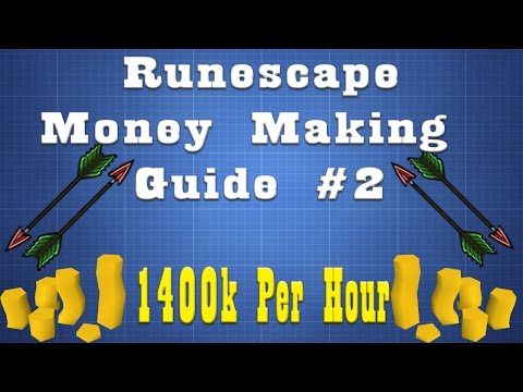 Fletching Money Making Guide 1400k Per Hour!!! [Money Making Episode 2]