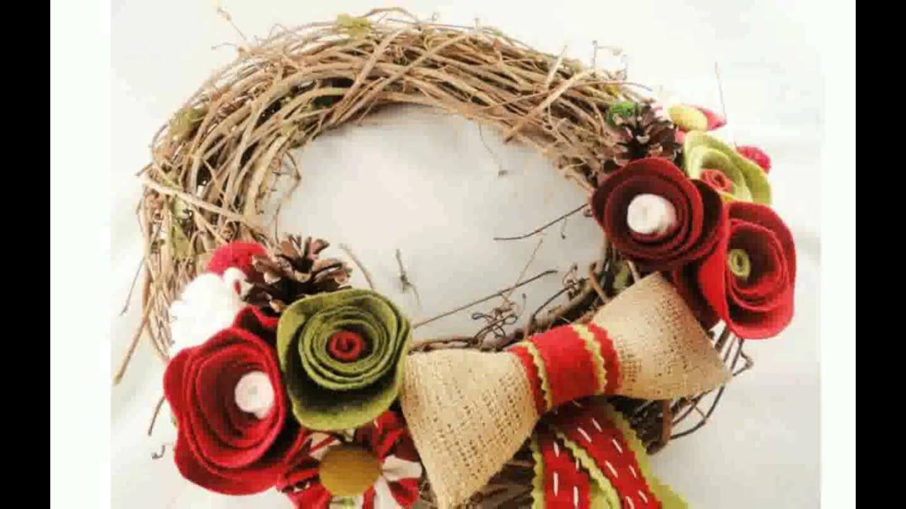 Grapevine Wreath Ideas - YouTube on Vine Decor Ideas  id=19029