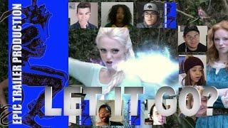SNOW WHITE vs ELSA: Princess Rap Battle reaction mashup  (by Whitney Avalon) thumbnail