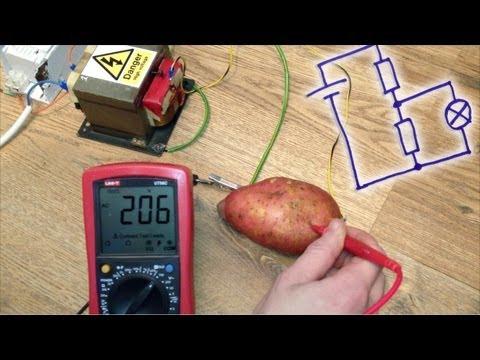 how to make a potato circuit