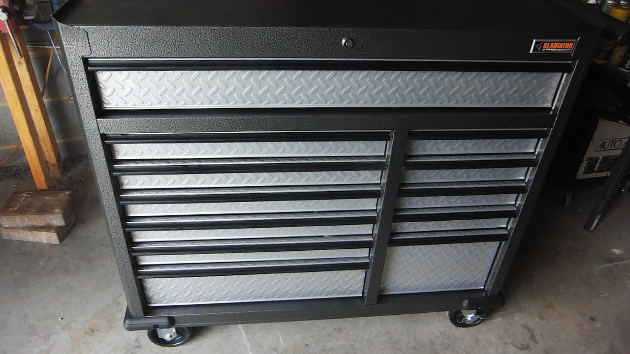 Superbe I Finally Got A Tool Box! (Gladiator GarageWorks Premier Series 12 Drawer  41 Inch Roll Away)