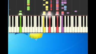 Monotones   Book Of Love [Piano tutorial by Synthesia]