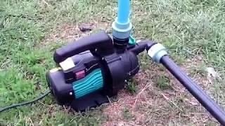 (Перезалив)Обзор насоса для капельного орошения Leo 0.6 кВт Hmax 35 м Qmax 60 л/мин