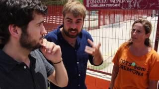 Visita al Colegio público Ciutat de Cremona de Alaquàs (Valencia)