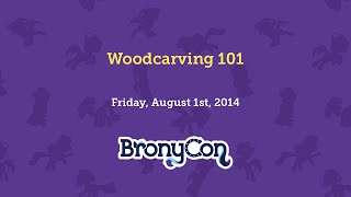 Woodcarving 101
