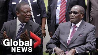 Mugabe death leaves 'big void': Zimbabwe president
