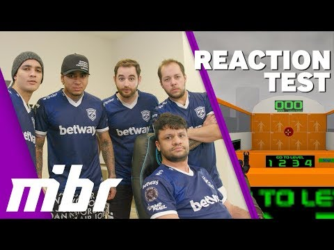 CS:GO Reaction Test With MIBR