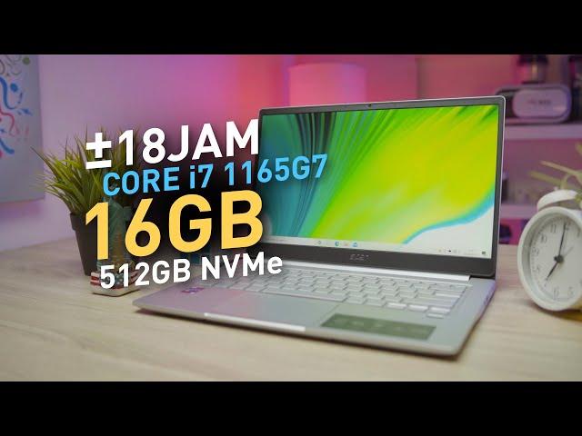GOKSSS, Laptop INI HAMPIR SEMPURNA Di Kelasnya !!! | Review Acer Swift 3 Infinity 3 SF314-59