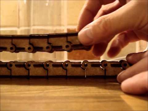 Laser Cut Drag Chain