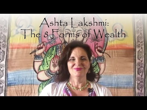 Ashta Lakshi: The 8 forms of Wealth