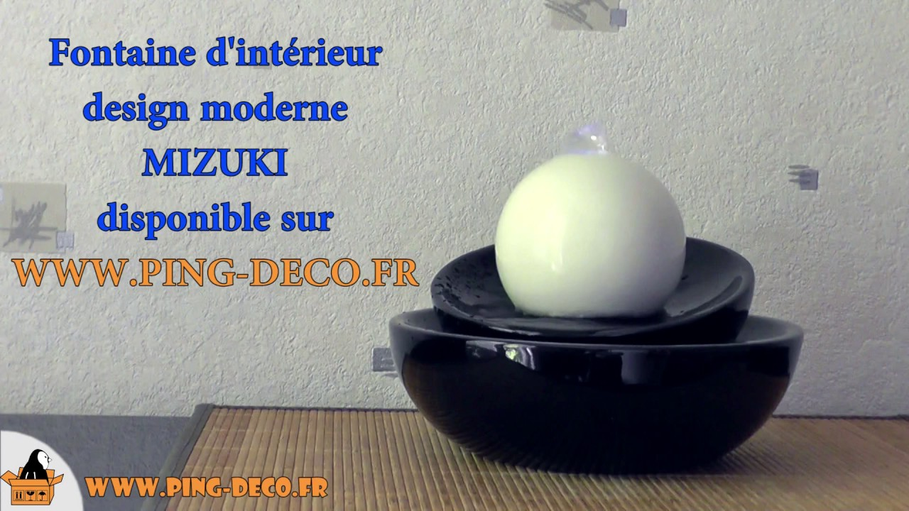 Decoration Fontaine Interieur Fontaine Dintrieur Design Bouddha Mizu Disponible Sur Wwwping