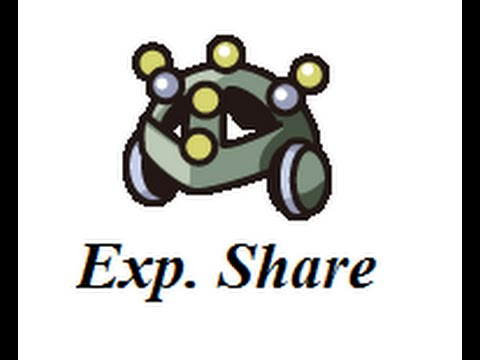 How To Get The Exp. Share In Pokemon Diamond/Pearl