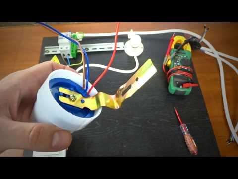 Как подключить датчик света.Схема подключения датчика света
