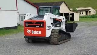 Bobcat T630 Compact Track Loader! Running