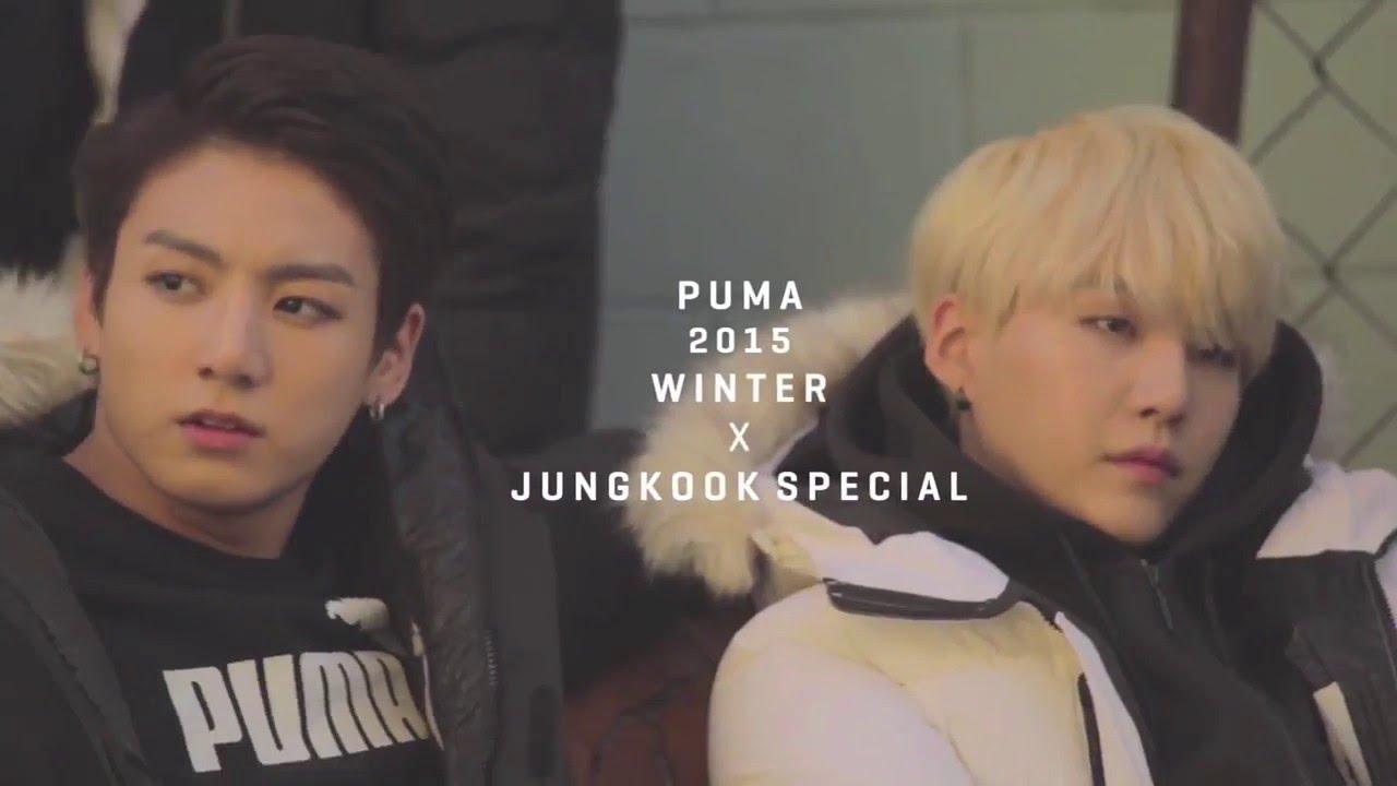 6452ae68c745 PUMA 2016 Advertisement - BTS - Jungkook cuts - YouTube
