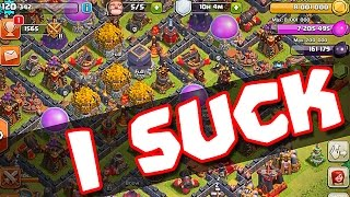 Clash of Clans  ::  SO MUCH MONEY BUT I SUCK ::  WHY DO I SUCK!