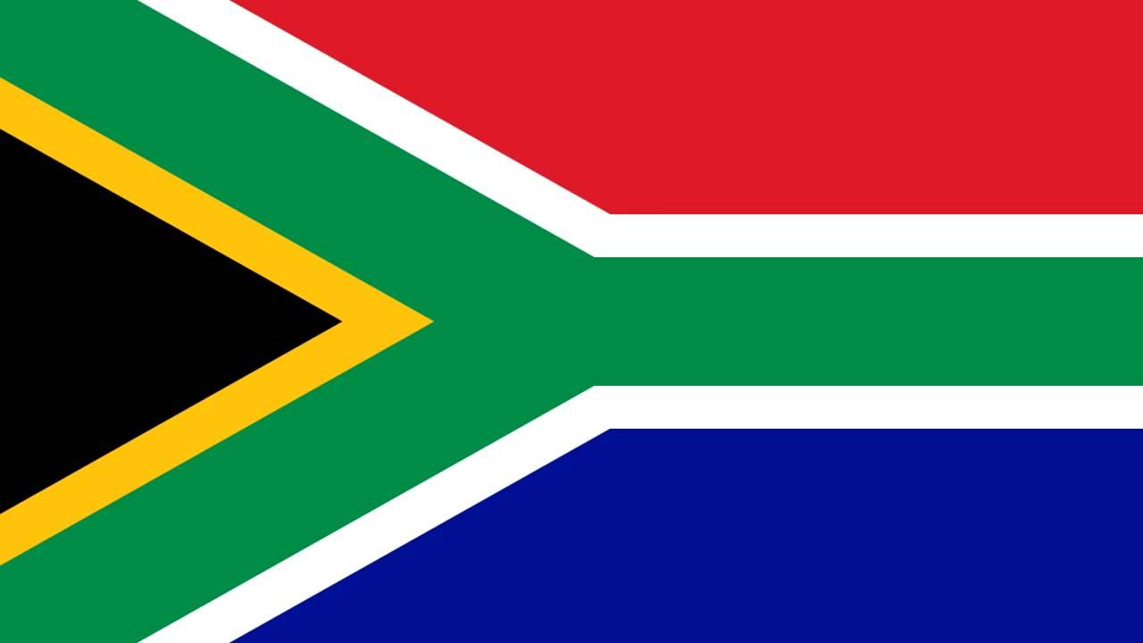 Bandera E Himno Nacional De Sudáfrica Flag And National Anthem Of South Africa