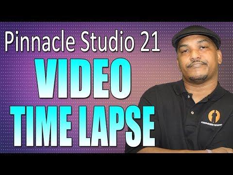 pinnacle-studio-21-ultimate- -video-time-lapse-tutorial