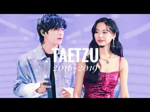 TAETZU— Love at First Sight | Taehyung \u0026 Tzuyu (AAA/SBS Gayo Daejun moments) [BTS x TWICE]