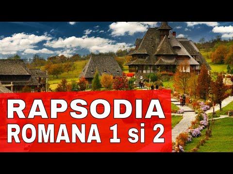 George Enescu: RAPSODIA ROMANA 1 si 2 (full)