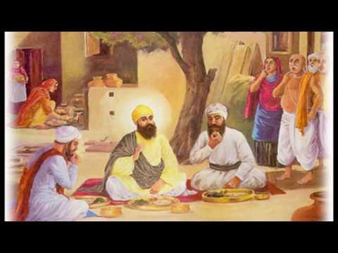 7) Bhai lalo di roti (Guru Nanak Devji)