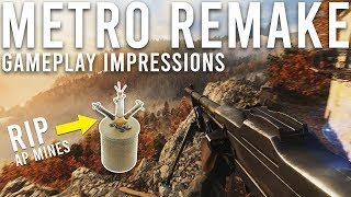 Metro Remake gameplay Impressions Battlefield 5