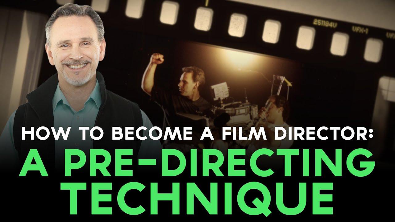 how to become a film director script supervisor technique