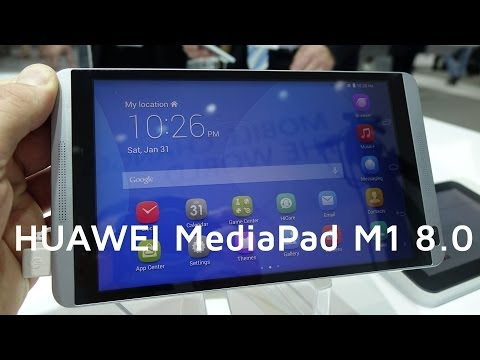 HUAWEI MediaPad M1 8.0 Hands-on | MWC 2014