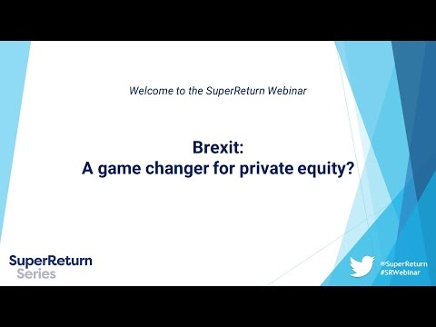 Brexit: A game changer for private equity?