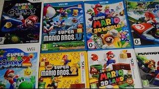 обзор мини-коллекции из 8 игр про Super Mario