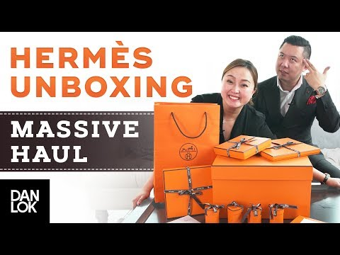 Massive Hermes Unboxing Haul