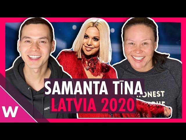Latvia Eurovision 2020 Reaction: Samanta Tina